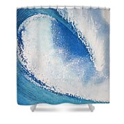 My Wave Shower Curtain by Jeff Lucas