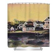 Mystic Morning Shower Curtain by Donna Tuten