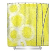 Narcissus Shower Curtain by Linda Woods