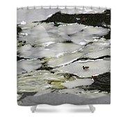 Nasty Weather - Featured 3 Shower Curtain by Alexander Senin