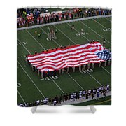 National Anthem Shower Curtain by Dan Sproul