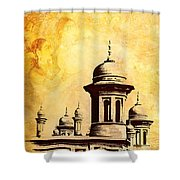 National College Of Arts Lahore Shower Curtain by Catf