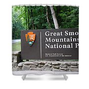 National Park Shower Curtain by Frozen in Time Fine Art Photography