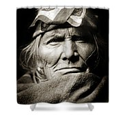 Native American Zuni -  Si Wa Wata Wa  Shower Curtain by The  Vault - Jennifer Rondinelli Reilly
