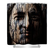 Native Heritage Shower Curtain by Christopher Gaston