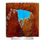 Natural Bridge Bryce Shower Curtain by Robert Bales