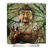 Natural Nirvana Shower Curtain by Christopher Beikmann