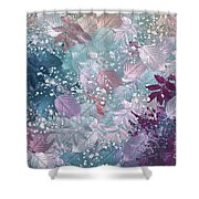 Naturaleaves - s1002b Shower Curtain by Variance Collections