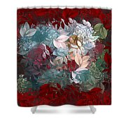 Naturaleaves - S20-03c Shower Curtain by Variance Collections