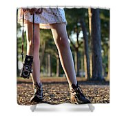 Nature Walk Shower Curtain by Laura Fasulo