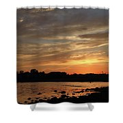 Nature's Created Colors Shower Curtain by Karol Livote
