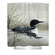 Nature's Serenity Shower Curtain by James Williamson