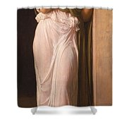 Nausicaa Shower Curtain by Frederic Leighton