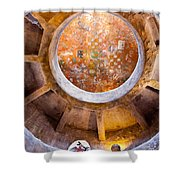 Navajo Watchtower Shower Curtain by Dave Bowman