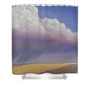 Nebraska Vista Shower Curtain by Jerry McElroy