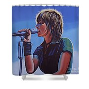 Nena Shower Curtain by Paul Meijering
