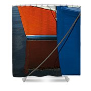 New Bedford Waterfront No. 3 Shower Curtain by David Gordon