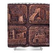 New Mexico Churches Shower Curtain by Ricardo Chavez-Mendez