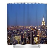 New York City Shower Curtain by Juergen Roth