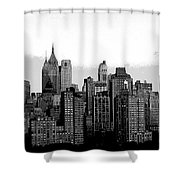New York City Shower Curtain by Kathleen Struckle