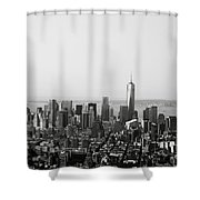 New York City Shower Curtain by Linda Woods
