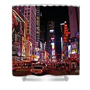 New York New York Shower Curtain by Angela Wright