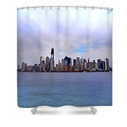 New York - Standing Tall Shower Curtain by Bill Cannon
