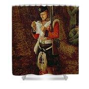 News From Home Shower Curtain by Sir John Everett Millais