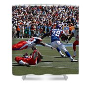 NFL Pro Bowl Shower Curtain by Mountain Dreams
