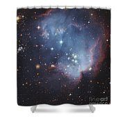 Ngc 602, Starforming Complex Shower Curtain by Robert Gendler