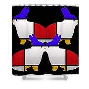 Night Watch Shower Curtain by Charles Stuart