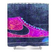 Nike Blazer 2 Shower Curtain by Alfie Borg