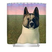 Nikita Shower Curtain by James W Johnson