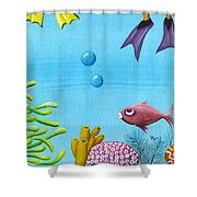 No Privacy Shower Curtain by Oiyee  At Oystudio
