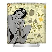 No Strings Attached Shower Curtain by Bill Cannon