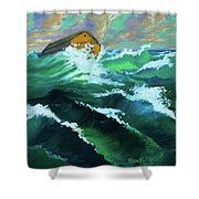 Noah's Ark Shower Curtain by Karon Melillo DeVega