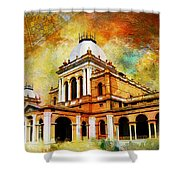 Noor Mahal Shower Curtain by Catf