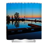 Northern Lights Shower Curtain by Frozen in Time Fine Art Photography
