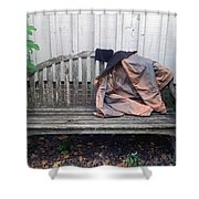 Now I Lay Me Down... Shower Curtain by Brian Wallace
