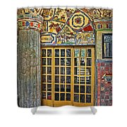October At Fonthill Castle Shower Curtain by Susan Candelario