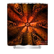 October Shower Curtain by Elizabeth McTaggart