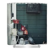 odds and ends Shower Curtain by Joana Kruse
