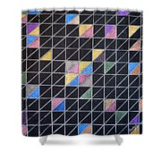 Off The Grid Shower Curtain by Donna Blackhall