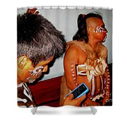 Oh The Irony Shower Curtain by Halifax photography by John Malone