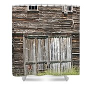 Old Barn In Maine Shower Curtain by Keith Webber Jr