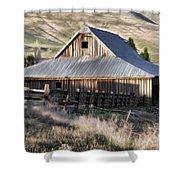 Old Barn Shower Curtain by Steve McKinzie