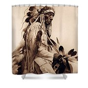 Old Cheyenne Shower Curtain by Studio Photo