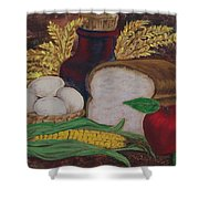 Old Fashioned Goodness Shower Curtain by Sharon Duguay
