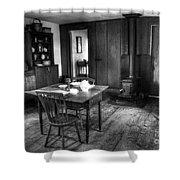 Old Kitchen Shower Curtain by Kathleen Struckle