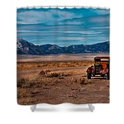 Old Pickup Shower Curtain by Robert Bales